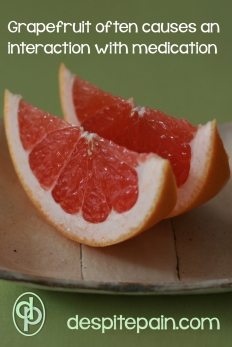 Some food should be avoided on certain medications. Grapefruit is a common one. The PIL will advise this.