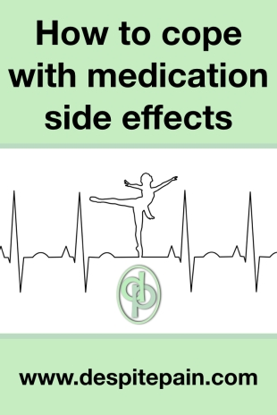 How to cope with side effects from medication, meds, pills, drugs. Tiredness, Insomnia, Brain fog. Suggestions.