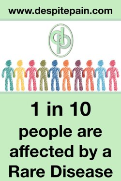 1 in 10 people are affected by a rare disease