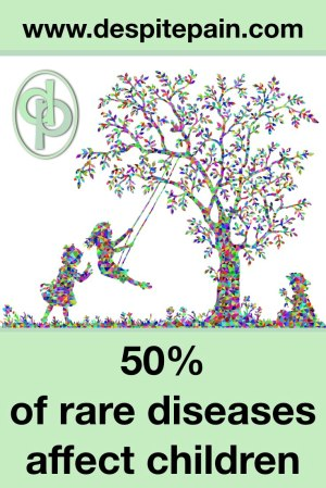 Rare Disease Day. 50% of rare diseases affect children.