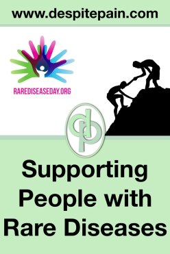 Supporting people with rare diseases. Rare disease day, 28th February.