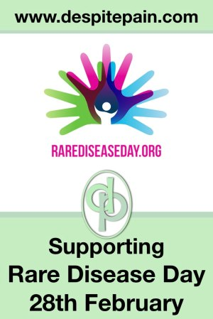 Supporting Rare Disease Day on the 28th of February. Awareness for rare diseases.