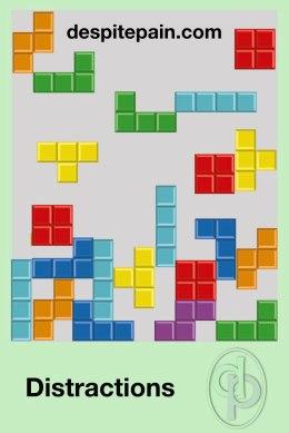 Distraction Ideas. Computer games. Tetris