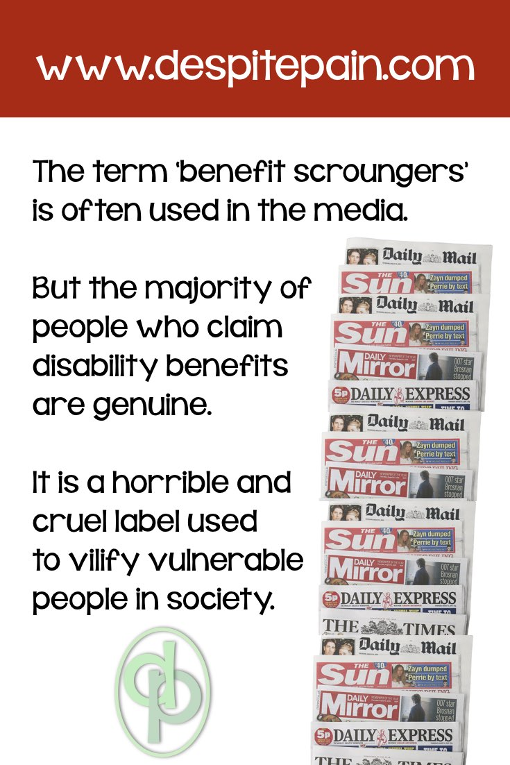 Media, newspapers use the term 'Benefit Scroungers'