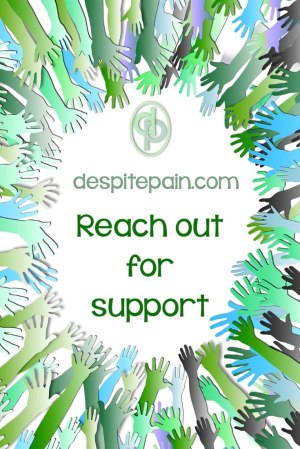 Reach out for support