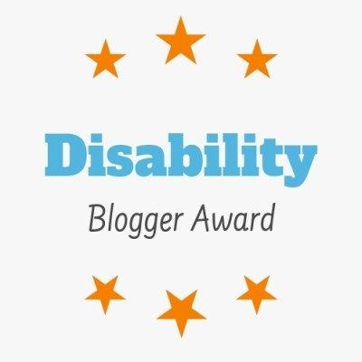 Disability Blogger Award logo by Chronillicles