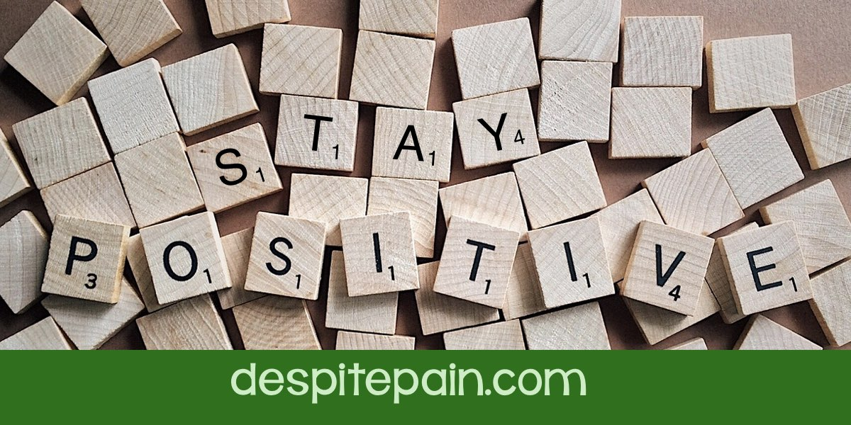 Stay Positive. Search for positivity. Scrabble letters