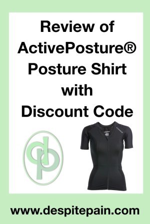 Review of ActivePosture Posture Shirt with discount code