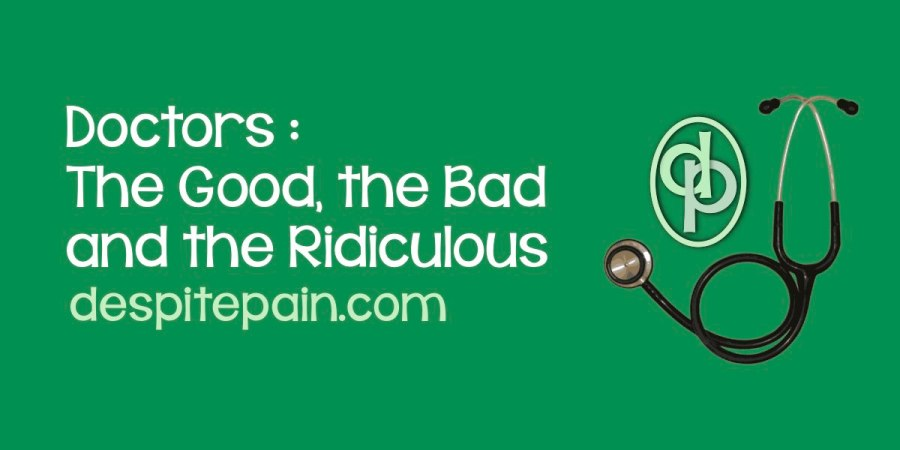 Doctors : the good, the bad and the ridiculous. Stethoscope.