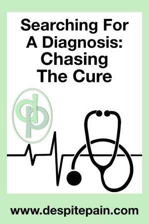 Searching for a diagnosis: Chasing the cure. Stethoscope.